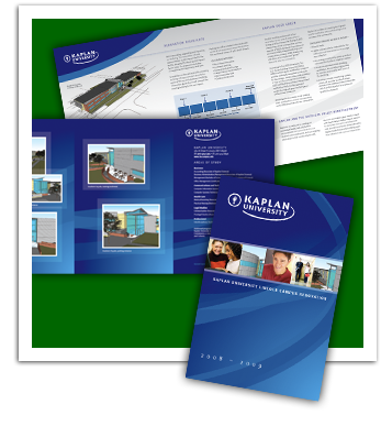 Kaplan University Rennovation Brochure